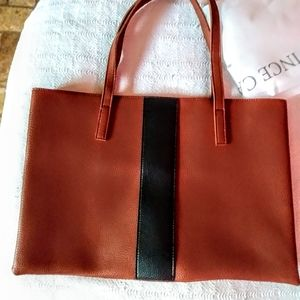 Leather new tote bag